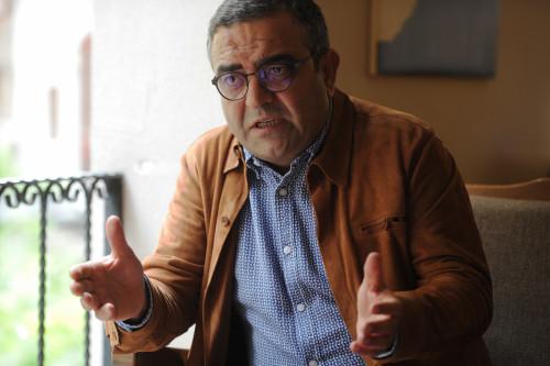 Cumhuriyet Halk Partisi Genel Baskan Yardimcisi Istanbul Milletvekili Sezgin Tanrikulu. 31 Mayis 2015 / Selahattin Sevi